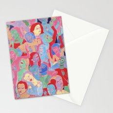 Alien Party Hard Stationery Cards