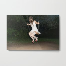 Alice, we're All mad Here Metal Print