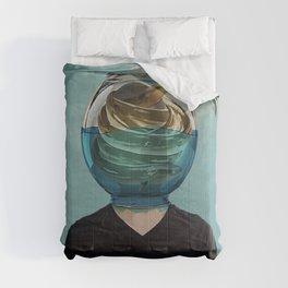 fish bowl Comforters