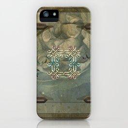 Wonderful decorative celtic knot iPhone Case