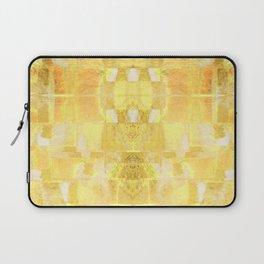 Babalon - Gold Metallic Soft Mid Century Pattern Laptop Sleeve