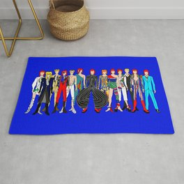 Blue Heroes Group Fashion Outfits Rug