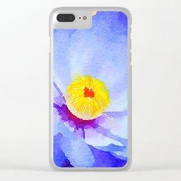 aprilshowers-22 Clear iPhone Case