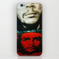 che iPhone & iPod Skins featuring Che by Camilla Myrrha