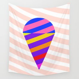 California Ice Cream Wall Tapestry