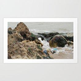 Washed Ashore Dakar Senegal Africa Art Print