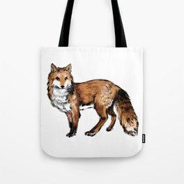 Brushed Fox Tote Bag
