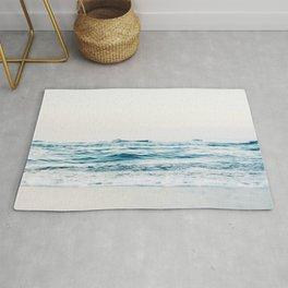 Sea water blue 8 Rug