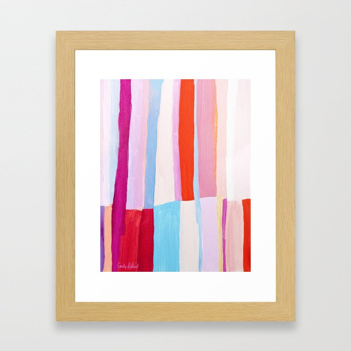 Library II Framed Art Print