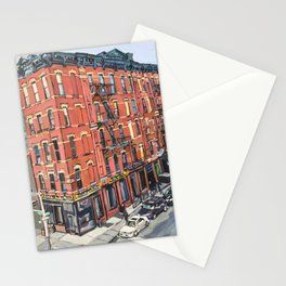 View of 17th Street From the High Line Stationery Cards
