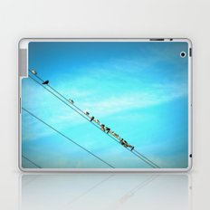 Birds on a Line fine art photography Laptop & iPad Skin