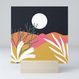 Bright Desert Night Mini Art Print