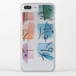 Japan tales Clear iPhone Case