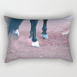 Hoof Beats Rectangular Pillow