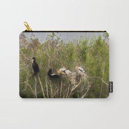 Anhinga Family Tree Carry-All Pouch