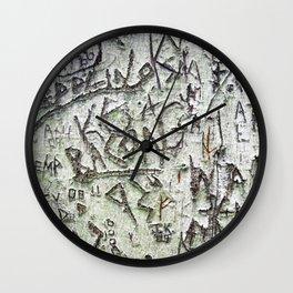 Zepplin and Bacon Wall Clock