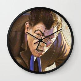 A Blind Bargain Wall Clock