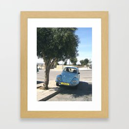 Uneven Ground Framed Art Print