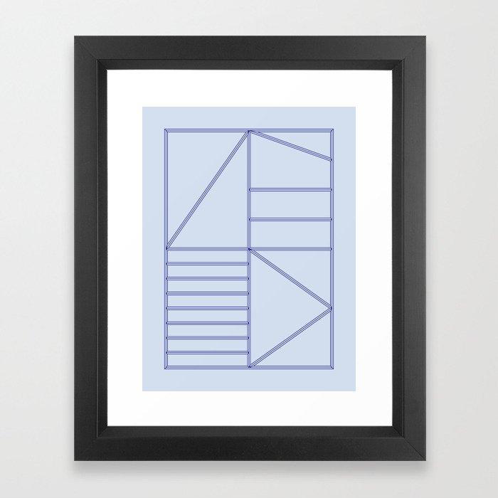 Structure - 02 Gerahmter Kunstdruck