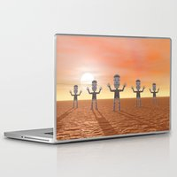 zombies Laptop & iPad Skins featuring Zombies by Phil Perkins