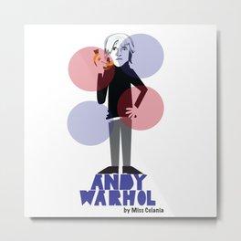 Warhol Metal Print