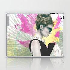 Breakfast at Tiffany's Fashion Illustration Laptop & iPad Skin