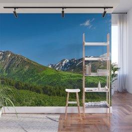 Alaskan Summer Greens - 1 Wall Mural