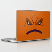 naruto Laptop & iPad Skins featuring NARUTO - GAMAKICHI by Raisya