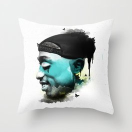 Young Bishop Throw Pillow