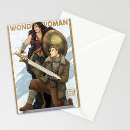 Wonder of Justice Stationery Cards