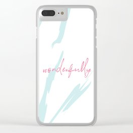 wonderfully Clear iPhone Case