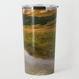 Glacier National Park in Autumn Travel Mug