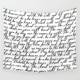 Psalm 121 Wall Tapestry