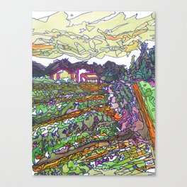 New Dawn Farm 2015 Landscape Canvas Print