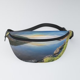Lake Geirionydd Sunset Fanny Pack