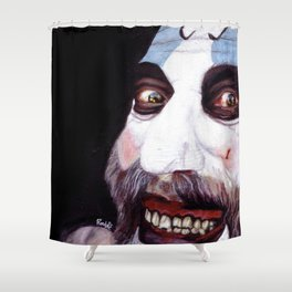 Captain Spaulding Shower Curtain