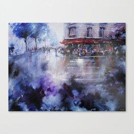 Paris painting - La Marine Canvas Print