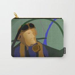 Spitfire hero over Kjeller Aerodrome Carry-All Pouch