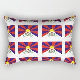 flag of thibet,བོད,tibetan,asia,china,Autonomous Region,everest,himalaya,buddhism,dalai lama Rectangular Pillow