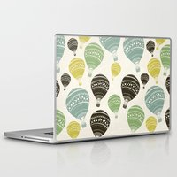 balloons Laptop & iPad Skins featuring Balloons by spinL