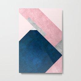 Modern Mountain No2-P1 Metal Print