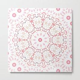 Love Eternal Pink Metal Print