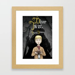 Charles Dickens' Oliver Twist Framed Art Print