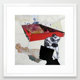tap out Framed Art Print