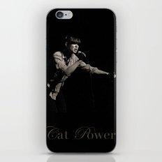 Cat Power iPhone & iPod Skin