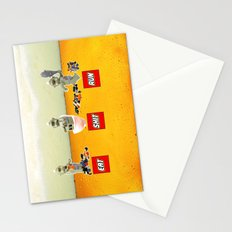 EAT SHIT RUN CYCLOPS LEGO Stationery Cards