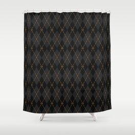 Modern Gentleman's Armour Shower Curtain