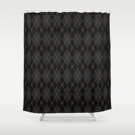 Modern Gentleman's Armour Shower Curtain