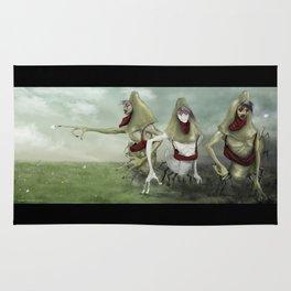 3 Lurkers  Rug