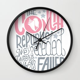 The Conch Republic, We Seceded Where Others Failed! Wall Clock